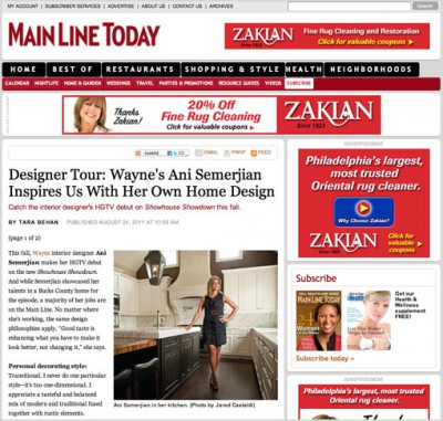 Designer Tour: Wayne's Ani Semerjian Inspires Us With Her Own Home Design