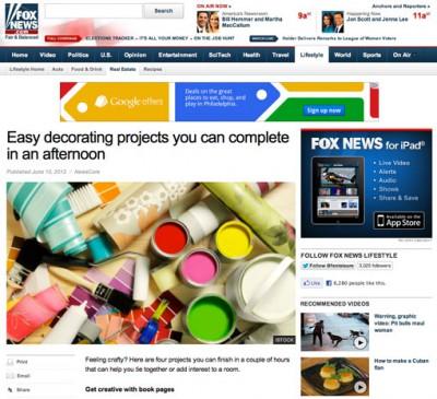 Semerjian Interiors Featured on FoxNews.com